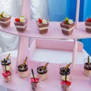 Стаканчики для десертов и закусок.